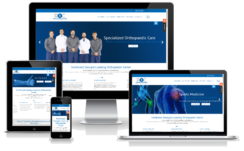 Rome Orthopaedic's New Site